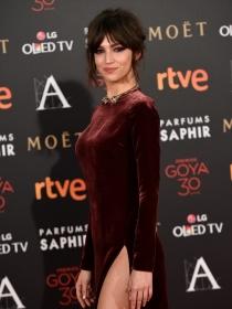 Goya 2016: glamour en la alfombra roja del cine español