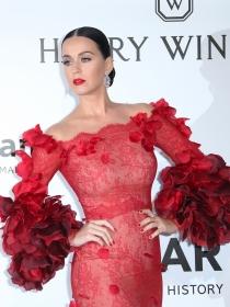 Katy Perry y otras famosas en la Gala amfAR de Cannes 2016