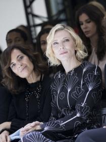 Cate Blanchett y otros famosos con la alta costura de París