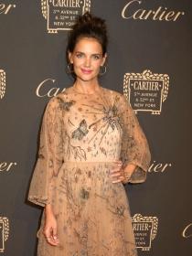 Katie Holmes y otras famosas se van de fiesta con Cartier