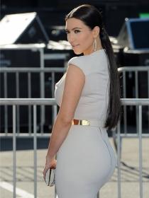 Así vestía Kim Kardashian antes de ser un icono de tendencias