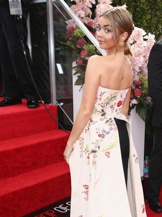 Sarah Hyland y las famosas mejor vestidas de la semana