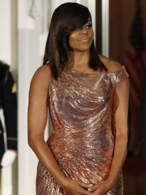 Michelle Obama y las famosas mejor vestidas de la semana