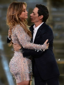 Jennifer Lopez y Marc Anthony, cómplices y amigos