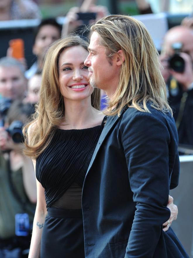 Brad Pitt y Angelina Jolie: su historia de amor en imágenes