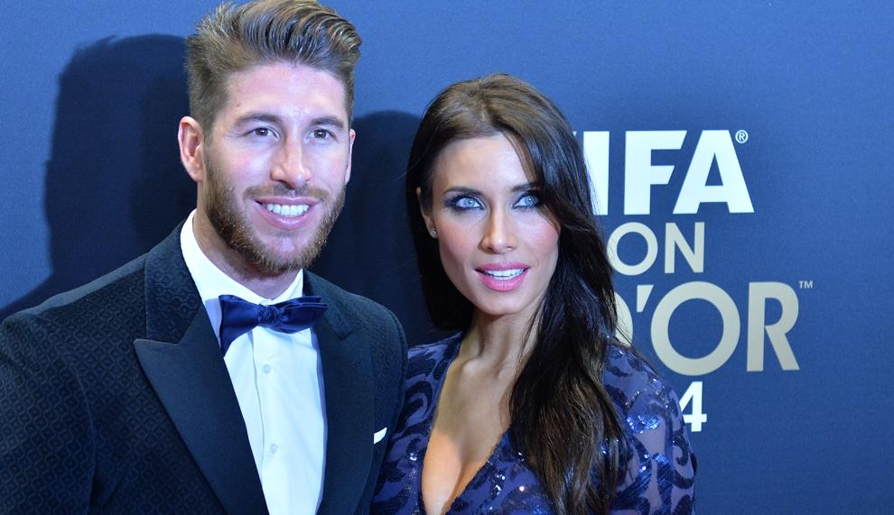 Ramos, el romántico del Real Madrid, extraña a Pilar Rubio