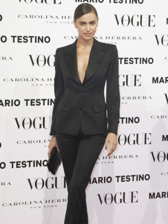Harper's Bazaar: Irina Shayk cierra 2015 de lo más sexy