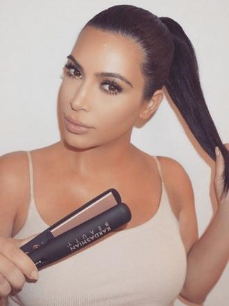 El gran secreto de Kim Kardashian con su melena