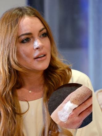 ¡Ojo! Lindsay Lohan sufre un aparatoso accidente en alta mar