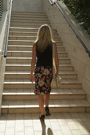 Caminar con elegancia