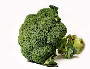 Brócoli, bueno para las piernas
