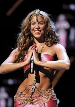 Las caderas de Shakira