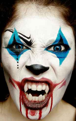 Maquillaje de halloween for Caras pintadas para halloween