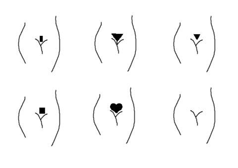 Estilos de depilación a la brasileña