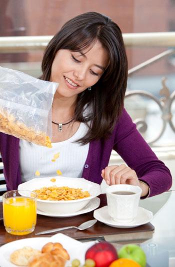 Cereales integrales, alimentación natural
