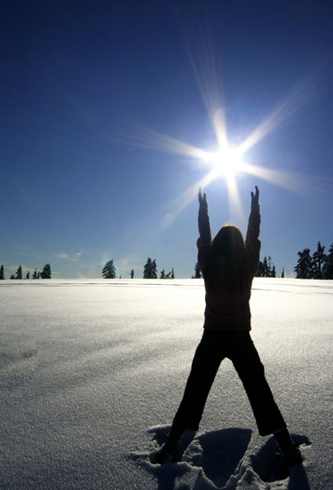 La disminución de luz solar aumenta el apetito en invierno