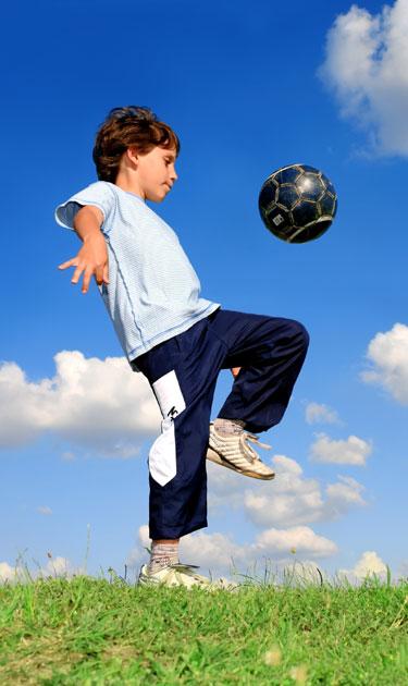 Deportes para un niño asmático