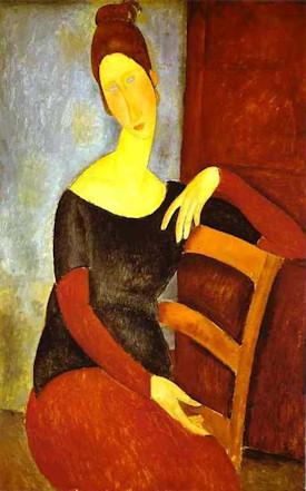 Mujeres cuello alto Modigliani