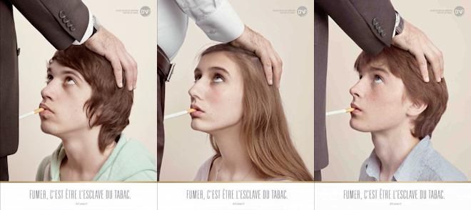 Campaña sexual en Francia contra el tabaco