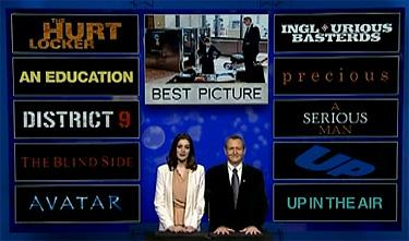 Cómo fueron las votaciones de los premios Oscars 2010