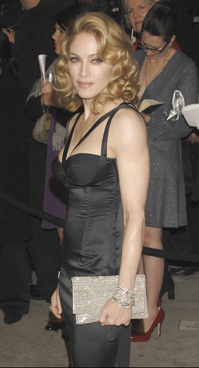 Fiesta reina de Madonna y Demi Moore después de los Oscars 2010