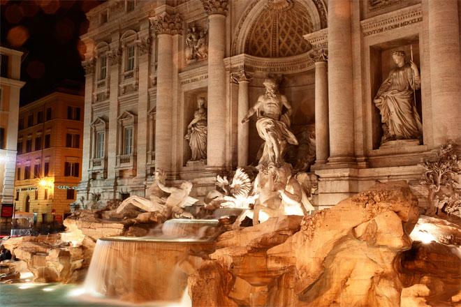 La leyenda de la Fontana de Trevi