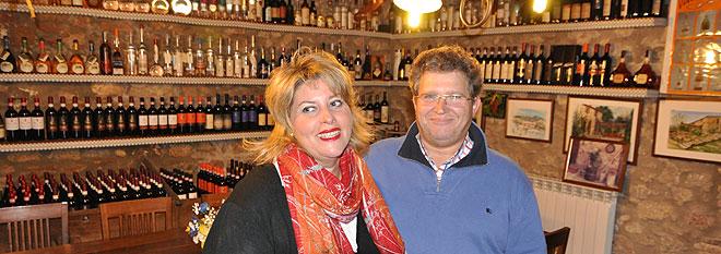 Ángelo Guzzi y Esther Tejera de la Casa Mazzoni
