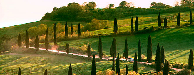 Guía romántica de la Toscana rural