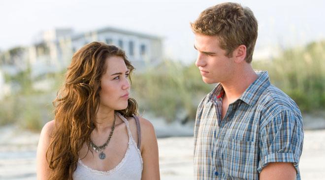 'La última canción' con Miley Cyrus y su novio, Liam Hemsworth