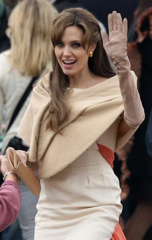 Angelina Jolie falsa