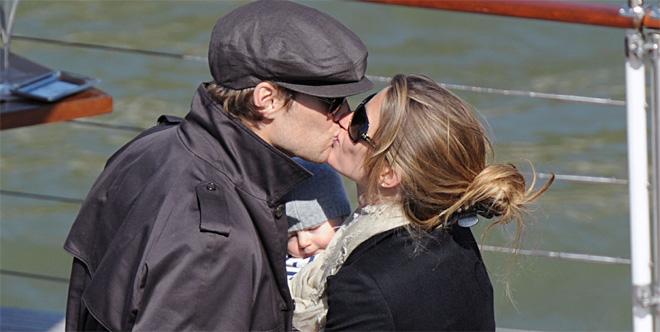 Gisele Bündchen ee de las madres más famosas con Tom Brady y su hijo Benjamin