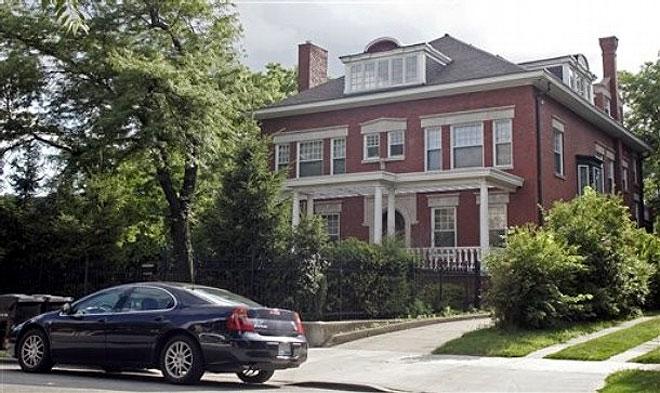 Revalorización de las casas vecinas de Obama