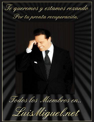 Oraciones de fans de Luis Miguel que abandona hospital y vuelve a casa en ambulancia