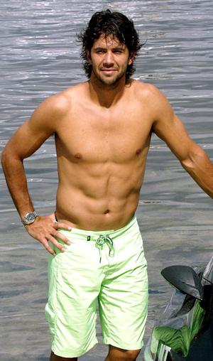 Fernando Verdasco enseña el torso