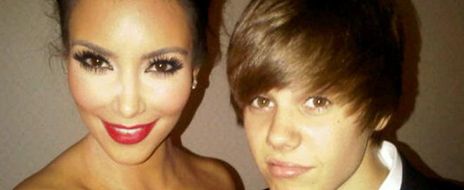 Justin bieber y kim kardashian se conocen