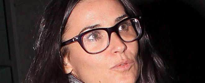 Demi moore con gafas dsquared2