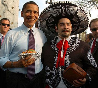 Obama en el  Día del Orgullo Mexicano en Estados Unidos