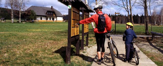 rutas de bicicleta en la republica checa