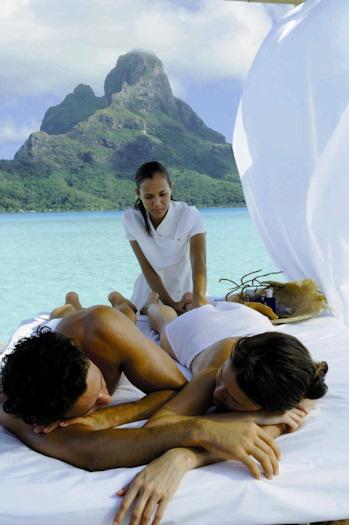 Un masaje en tahiti
