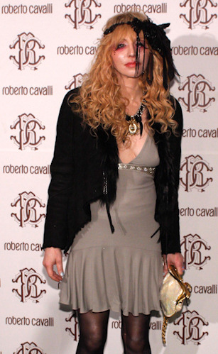 Courtney love y su mal gusto para la moda