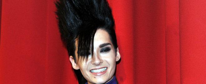 El peinado de bill kaulitz