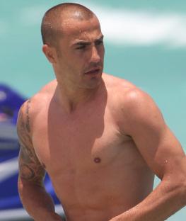 Fabio Cannavaro en Miami