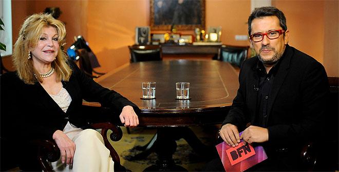 La Baronesa Thyssen, Carmen Cervera, concedió una entrevista en exclusiva a Andreu Buenafuente