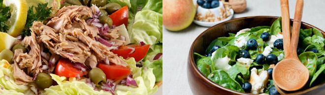 Menús para la dieta Montignac