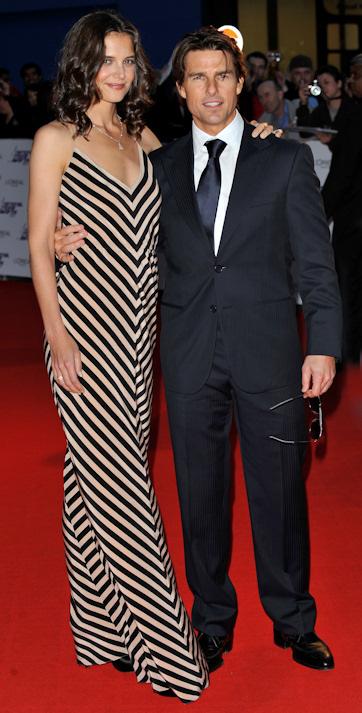 Tom cruise y katie holmes en los national movies awards