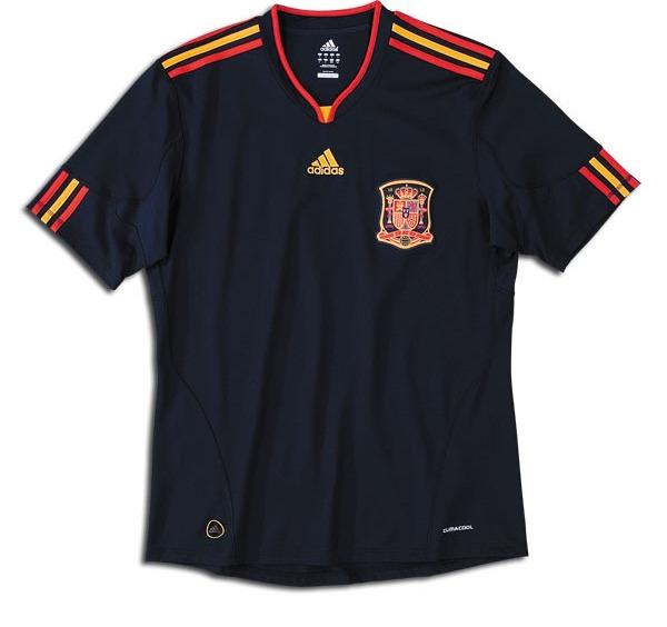 Uniforme de España en el Mundial 2010