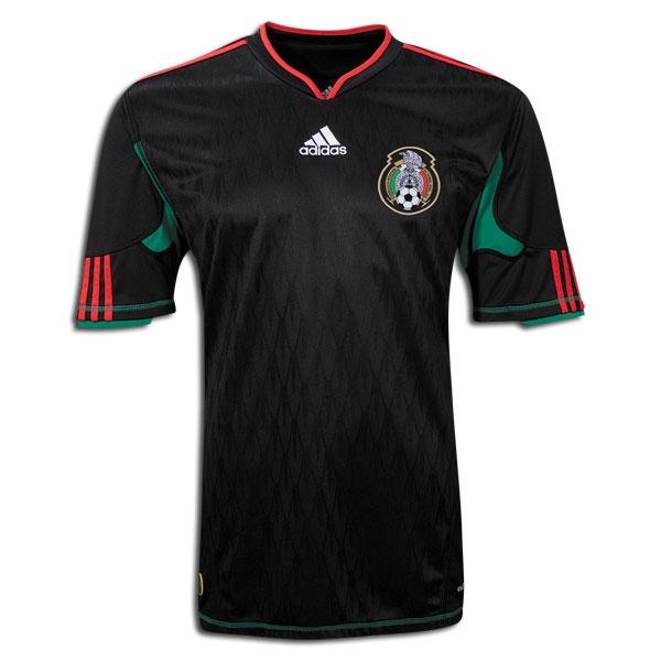 Uniforme de México en el Mundial 2010