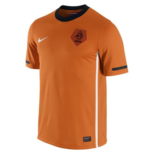 Uniforme de Holanda en el Mundial 2010