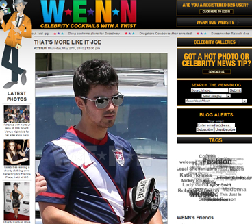 Joe con Estados Unidos, Nick Jonas con Brasil