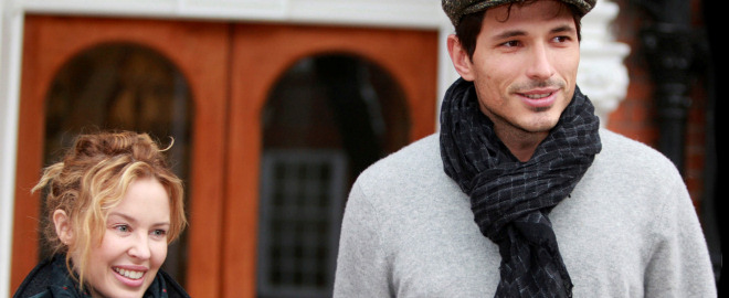 Andres velencoso y kylie minogue rompen